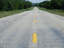 El camino a continuación Fotografía de archivo