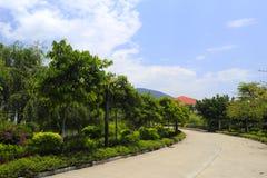 El camino del hotel de centros turísticos del tianzhu Fotografía de archivo libre de regalías