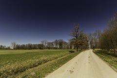 El camino en Alemania Fotografía de archivo libre de regalías