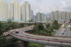 el camino en Hong Kong 2016 Fotografía de archivo libre de regalías