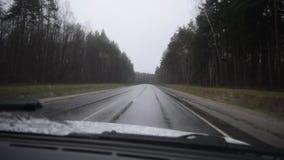 El camino en la lluvia metrajes