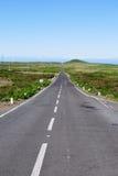 El camino en Madeira Foto de archivo libre de regalías