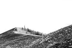 El camino a la cruz piadosa Fotos de archivo