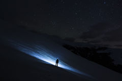 El camino a las estrellas Imágenes de archivo libres de regalías