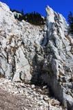 El camino para arriba en la montaña Foto de archivo libre de regalías