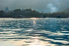 El camino para monkey la isla Imágenes de archivo libres de regalías