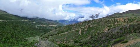 El camino que lleva al Meili Jokul Fotos de archivo libres de regalías