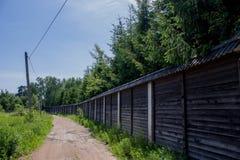 El camino rural Imágenes de archivo libres de regalías