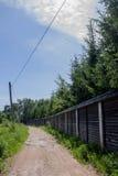 El camino rural Fotografía de archivo libre de regalías