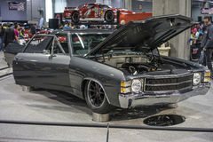 El camino show car Stock Image