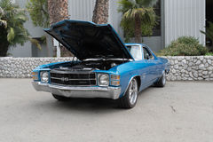 EL Camino ss di Chevrolet su esposizione Fotografia Stock