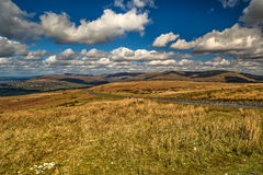 El camino a través de las colinas Imagen de archivo