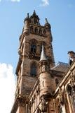 El campanario de Glasgow University Fotografía de archivo