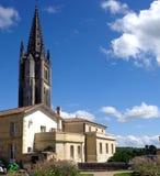 El campanario de la iglesia monolítica Fotografía de archivo libre de regalías