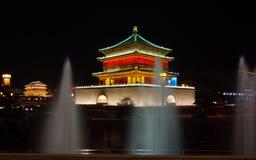 Torre de Xi'an China Fotos de archivo