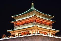 El campanario de Xian, China imagen de archivo