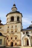 El campanario del monasterio de Cyril-Belozersky Imagen de archivo