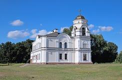 El campanario en la fortaleza compleja conmemorativa de Brest Foto de archivo libre de regalías