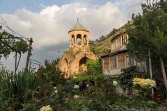 El campanario viejo en Tbilisi imagen de archivo