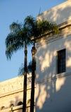 El campanario y la bóveda de California en la entrada del balboa parquean - Imagen de archivo