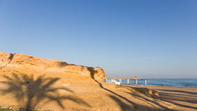 EL Campello de plage Photo stock