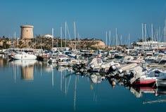 El Campello harbor. Alicante, Spain Royalty Free Stock Photography