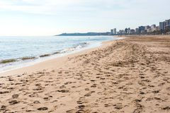 El Campello plaża Zdjęcie Royalty Free