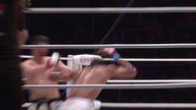 el campeonato en luchas sin las reglas M-1, en la ciudad de Orenburg 26 de mayo almacen de video