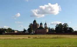 El campo de Borodino fotografía de archivo