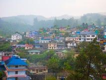 El campo de Munnar, Kerala, la India Imágenes de archivo libres de regalías