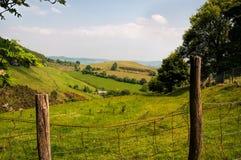 El campo Galés Foto de archivo libre de regalías