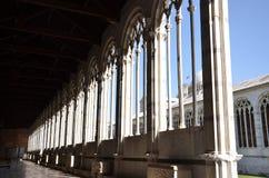 Arcos de Camposanto Monumentale foto de archivo libre de regalías