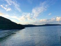 El campo y los lagos de Irlanda Fotos de archivo