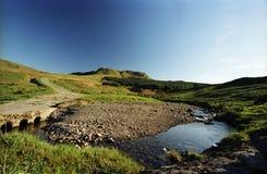 El campsie de Escocia derriba Imagen de archivo