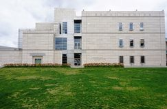 El campus de Caltech (Instituto de Tecnología de California) foto de archivo