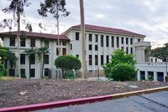 El campus de la universidad occidental (Oxy) Imágenes de archivo libres de regalías