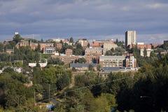 El campus de Washington State University en el pullman, Washington imagenes de archivo