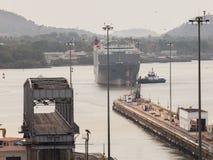 El Canal de Panamá Foto de archivo libre de regalías