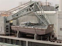 El Canal de Panamá Imagen de archivo libre de regalías