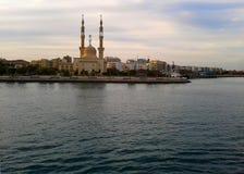 El canal de Suez Imagen de archivo libre de regalías