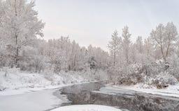 El canal de Yenisei Imagen de archivo libre de regalías
