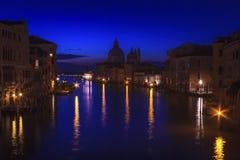 El canal magnífico en Venecia, Italia Imágenes de archivo libres de regalías