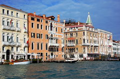 El canal magnífico, Venecia, Italia Fotos de archivo libres de regalías