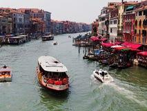 El canal magnífico, Venecia, Italia Fotografía de archivo libre de regalías