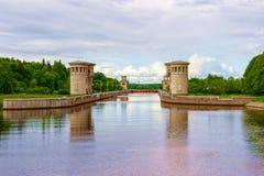 El canal nombró Moscú gateways El concepto de turismo fotos de archivo
