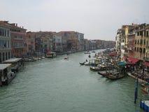 El Canale magnífico en Venecia Foto de archivo libre de regalías