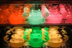 El cangrejo colorido rueda forma Foto de archivo libre de regalías