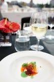 El cangrejo del chile cocinó de una manera moderna Foto de archivo libre de regalías