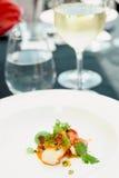 El cangrejo del chile cocinó de una manera moderna Imágenes de archivo libres de regalías