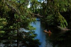 El Canoeing Foto de archivo